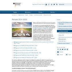 Ministère fédéral de l'Économie et de l'Énergie - Période 2014-2020