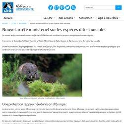 LPO 05/05/14 Nouvel arrêté ministériel sur les espèces dites nuisibles