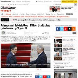 Primes ministérielles : Fillon était plus généreux qu'Ayrault