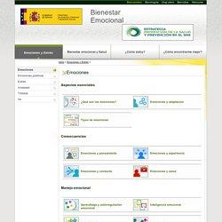Ministerio de Sanidad, Consumo y Bienestar Social - Bienestar Emocional - Emociones