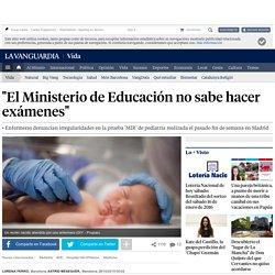 El Ministerio de Educación no sabe hacer exámenes