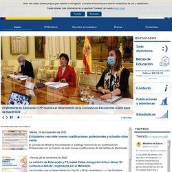 Inicio - Ministerio de Educación y Formación Profesional