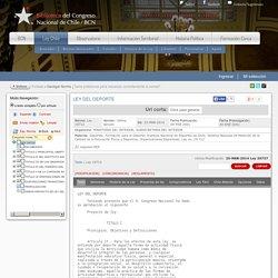 LEY-19712 09-FEB-2001 MINISTERIO DEL INTERIOR, SUBSECRETARIA DEL INTERIOR - Ley Chile - Biblioteca del Congreso Nacional