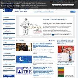 Home-Page Sito web del Ministero dei beni e delle attività culturali e del turismo