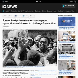 Former PNG prime ministers among new opposition coalition set to challenge for election