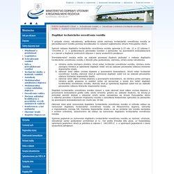 Duplikát technického osvedčenia vozidla - Ministerstvo dopravy, výstavby a regionálneho rozvoja SR