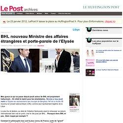 BHL nouveau Ministre des affaires étrangères et porte-parole de l'Elysée - Louis XIV sur LePost.fr (14:51)