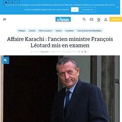 Affaire Karachi : l'ancien ministre François Léotard mis en examen - Le Parisien