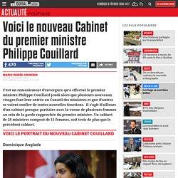 Voici le nouveau Cabinet du premier ministre Philippe Couillard