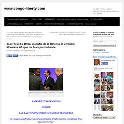 2015 Jean-Yves Le Drian, interlocuteur français numéro 1