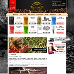 MINISTRY OF COFFEE | Wholesale coffee beans