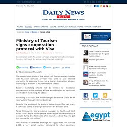 Ministry of Tourism signs cooperation protocol with Visa