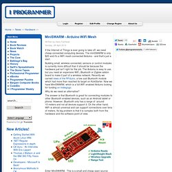 MiniSWARM - Arduino WiFi Mesh