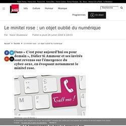 Le minitel rose : un objet oublié du numérique