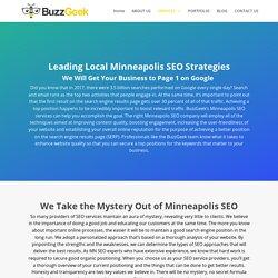 Minneapolis SEO - Search Engine Optimization