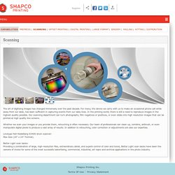 Minnesota Photo Scanning Services - Shapco Printing Inc
