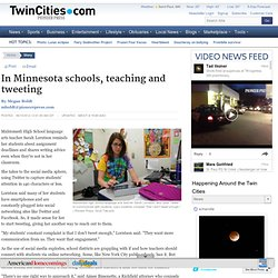 Minnesota educators learn how to use social media in school