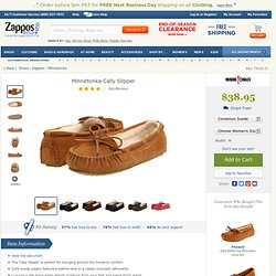 Minnetonka Cally Slipper Chocolate Suede