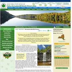 Minnewaska State Park Preserve - NYS Parks, Recreation & Historic Preservation