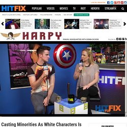 Casting minorities as white characters is not a double standard. Heres why.
