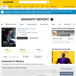 Minority Report - film 2002