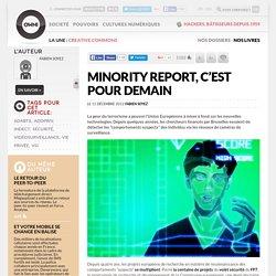 Minority Report, c'est pour demain