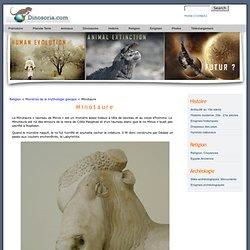 Minotaure . Mythologie en Images