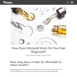 How does Minoxidil work on your hair regrowth? – Traya Health – TrayaHealth