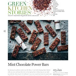 Mint Chocolate Power Bars