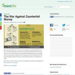 The War Against Counterfeit Money