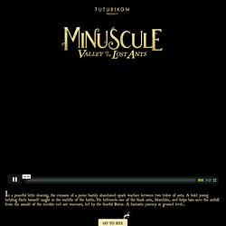 Minuscule site officiel, official website