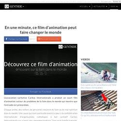 En une minute, ce film d'animation peut faire changer le monde