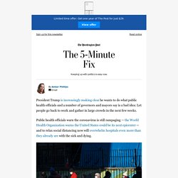 The 5-Minute Fix from The Washington Post