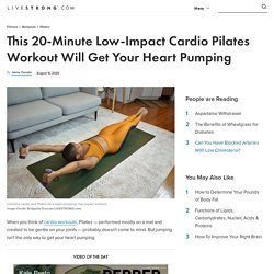 A 20-Minute Low-Impact Cardio Pilates Workout
