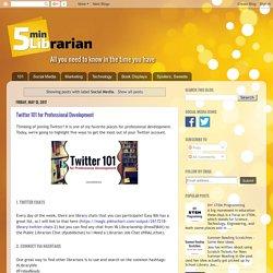 5 Minute Librarian: Social Media