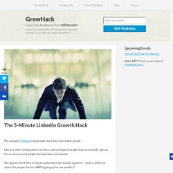 The 5-Minute Linkedin Growth Hack