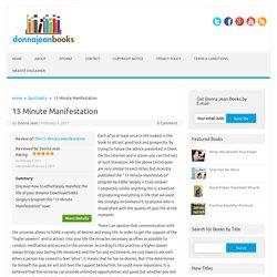 15 minute manifestation free download