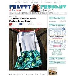 10 Minute Onesie Dress – Easiest Dress Ever
