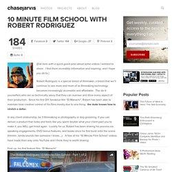 10 Minute Film School with Robert Rodriguez