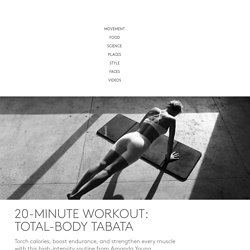 20-Minute Workout: Total-Body Tabata - Furthermore