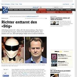 Richter enttarnt den «Stig» - Tv