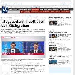 «Tagesschau» hüpft über den Röstigraben - Tv