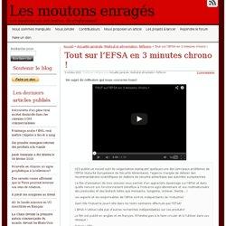 Tout sur l'EFSA en 3 minutes chrono !
