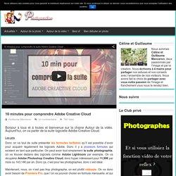 10 minutes pour comprendre Adobe Creative Cloud