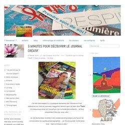 3 minutes pour découvrir le Journal Créatif
