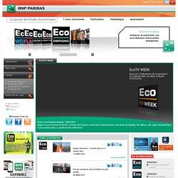 ECOTV WEEK – Etudes Economiques