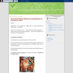 ..: [La minutes de Fabrice] : Pablo Picasso et Georges Braque, les inventeurs du cubisme
