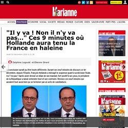 """""""Il y va ! Non il n'y va pas…"""" Ces 9 minutes où Hollande aura tenu la France en haleine"""