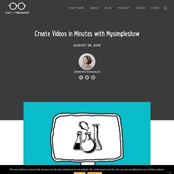 Create Videos in Minutes with Mysimpleshow