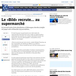 utes.ch - Le «Bild» recrute... au supermarché